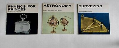 Globes Orreries Surveying 'Physics For Princes' Three Science Museum Booklets • 5.78£