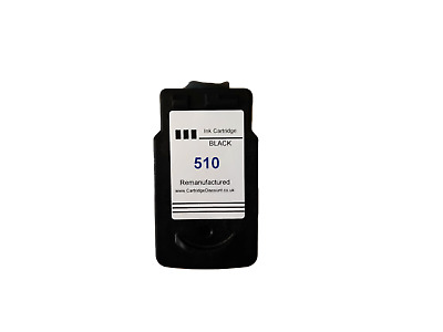 Remanufactured Ink For Canon Pixma 510 Black PG-510 • 8£