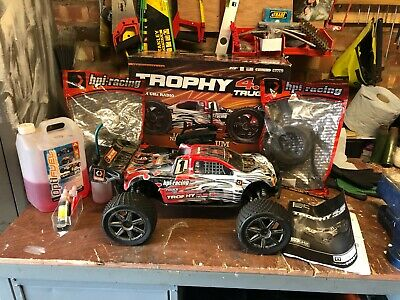 HPI Trophy Truggy 4.6 1/8 Scale Nitro Rc  • 136£
