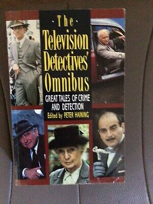 The Televsion Detectives' Omnibus-edited  By Peter Haining. • 4.99£