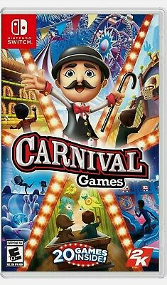Carnival Games Nintendo Switch Game (#) • 24.95£