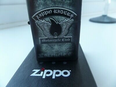 New Boxed Zippo K 15 Nov 2015 Motorcycle Cycle Club Matching Dates Insert  • 15£
