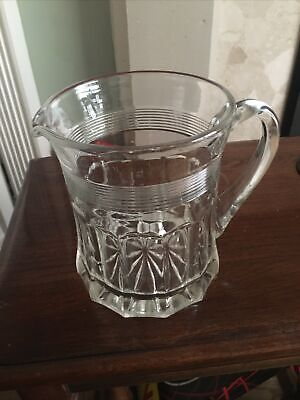 Fine Quality Antique Lead Crystal Glass Water Jug • 10£