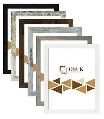 £2.99 • Buy Photo Frame Picture Poster Large Maxi Frames Black White Rustic Gold Grey Silver