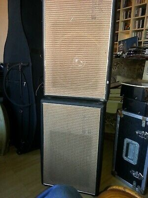 Sound City 1 X 12 Speaker Cabinet (pair) Late 60's Very Early 70's • 130£