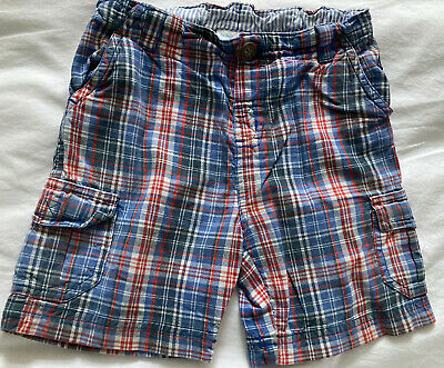 Boys Checked Shorts From JoJo Maman Bebe. Age 12-18 Months • 0.99£