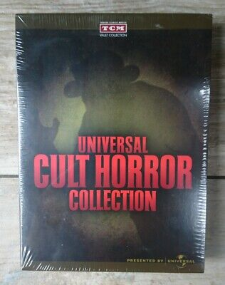 Universal Cult Horror Collection Dvds New Sealed Excellent Condition REGION ONE  • 35£