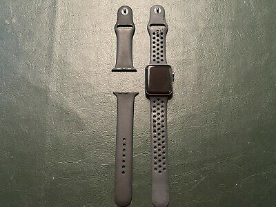 $ CDN95.52 • Buy Apple Watch Series 2 Nike 42mm Aluminium Case Space Gray - Includes Extra Band