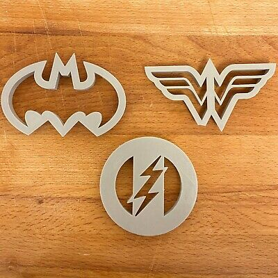 Justice League Cookie Cutters Full Set • 3£