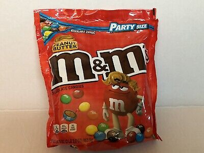 $19.35 • Buy M&M'S Peanut Butter Chocolate Candy Party Size, 34 Ounce Bag