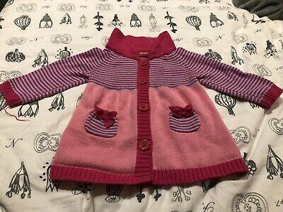 AU25 • Buy Sprout Pink Knitted Jacket VGUC Size 0