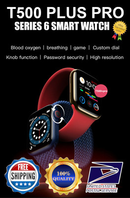AU38.25 • Buy Smart Watch IOS Android Iphone Apple Samsung LG T500+PRO Men Kids Watches