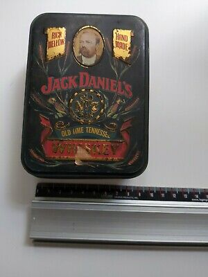 Jack Daniels Old Time Tennessee Whiskey Tin Collectable • 3.99£