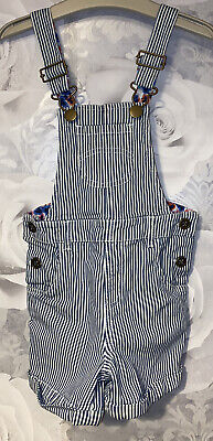 Girls Age 2-3 Years - M&S Shorts Dungarees • 6£