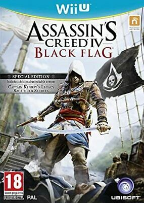 Assassins Creed IV Black Flag - Special Edition (Wii U) • 14.99£
