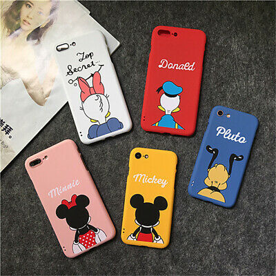 AU10.99 • Buy Cute Disney Mickey Mouse 360 Full Protection Case Cover For IPhone 6s 7 8 Plus