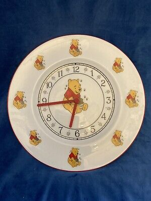 £9 • Buy Winnie The Pooh Clock On Fine China Plate With Quartz Movement.