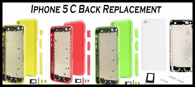£3.49 • Buy IPhone 5C Back Metal Replacement Battery Housing Back Cover Rear Case | UK