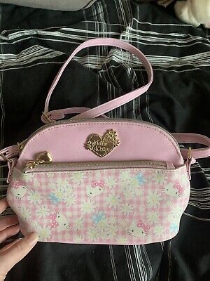 Official Sanrio Hello Kitty Womens Hand Bag Handbag Lolita Kawaii Cute Japanese • 2£