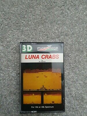 Luna Crabs - ZX Spectrum 48K/128K  Micromega 1983 Tested & Working  • 9.99£