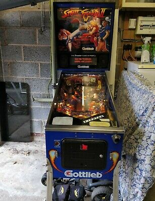 Street Fighter 2 Pinball Machine Made By Gottlieb Great Condition • 3,999£