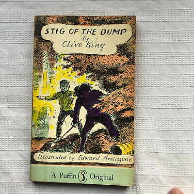 Puffin Books Stig Of The Dump By Clive King Illus Edward Ardizzone • 7.50£