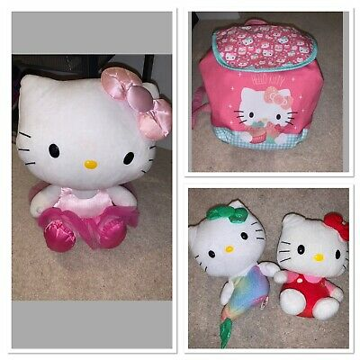 Hello Kitty Toy & Backpack Bundle • 0.99£