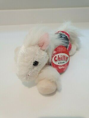 TESCO CHILLY AND FRIENDS SOFT TOY PONY PLUSH BEAUTY NEW WITH TAGS 25cm • 9£