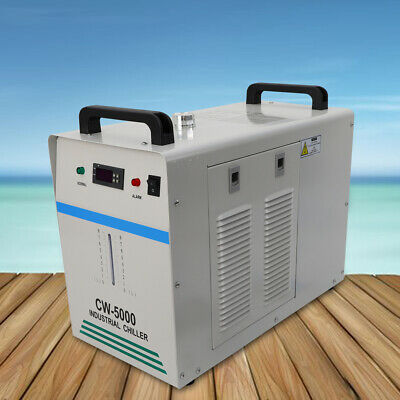 CW-5000DG INDUSTRIAL WATER CHILLER For 80W/100W CO2 Laser Tube / CNC Engraver • 289.86£