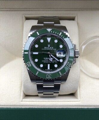 Rolex 116610LV Submariner Hulk Box & Papers Excellent Condition • 9,390£
