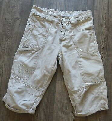 Men's Crosshatch 'Winchino' Oyster Colour Knee Length Shorts Button Fly W30, 14L • 5£