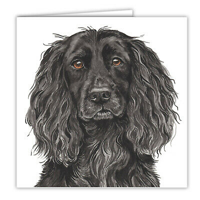 £2.99 • Buy Working Cocker Spaniel Greetings Card Dog Blank Card Dogs Cockers Spaniels Cards