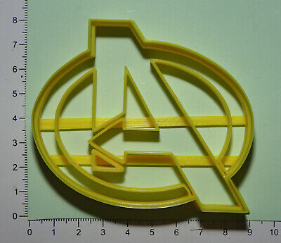 £4.50 • Buy Avengers Logo Cookie Cutter 3d Printed