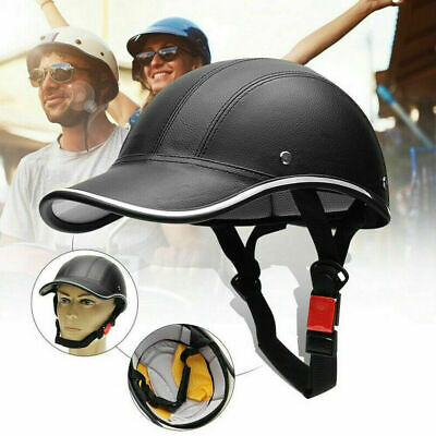 Unisex Baseball Cap Style Motorcycle Bike Safety Helmet Mtb Road Cycling Hat • 11.29£