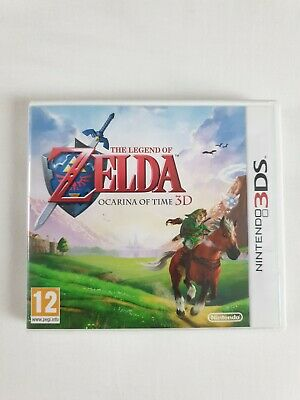 AU38.61 • Buy The Legend Of Zelda: Ocarina Of Time 3D - Nintendo 3DS - Complete With Manual