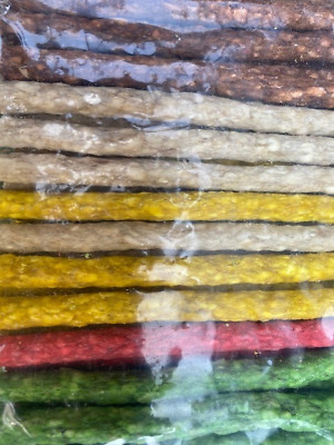 Munchy Rolls Sticks Treat Chews For Dogs Pack Of 50/100 Mixed Sticks 5  X 9-10mm • 3.95£