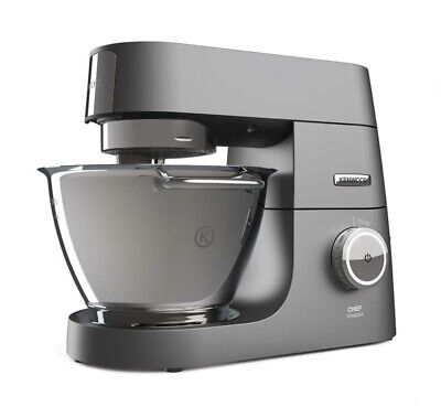 Kenwood Chef Titanium 4.6L Silver Stand Mixer - 1500W Motor - Model KVC7300S NEW • 469.90£