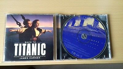BACK TO TITANIC - TITANIC Volume 2 - Soundtrack - JAMES HORNER • 0.99£