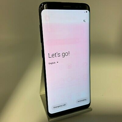 $ CDN165.89 • Buy Samsung Galaxy S8 64GB Midnight Black T-Mobile Good Condition W/ Screen Shadow
