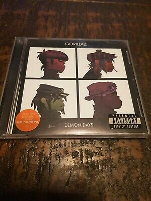 Gorillaz - Demon Days (Parental Advisory, 2005) • 0.99£