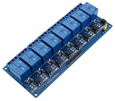 AU20.46 • Buy 5V 8-Channel Relay Board Module For Arduino Raspberry Pi ARM AVR DSP PIC