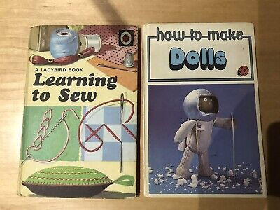 1970s Ladybird Books Learn Sew, How To Make Dolls Series 633 • 4£