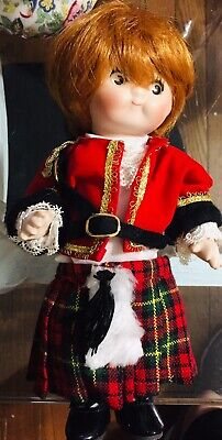 $ CDN6.38 • Buy Vintage Red Hair Porcelain Doll Jointed Signed Numbered 1998