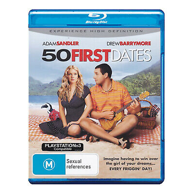 AU14.95 • Buy 50 First Dates Blu-ray New Region B - Adam Sandler, Drew Barrymore - Free Post