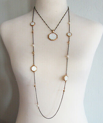 $ CDN2.72 • Buy Lia Sophia Jewelry Foundry Necklace In Gold And Hematite RV$148