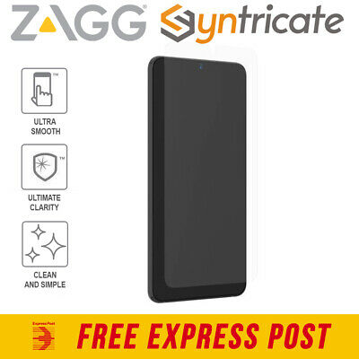 AU70.36 • Buy Galaxy S21 Ultra 5G ZAGG InvisibleShield Glass Fusion+ D30 Screen Protector