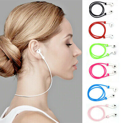 $ CDN1.72 • Buy For Apple AirPods Silicone Anti Lost Strap Cord AirPod Earphones String Rope Hot