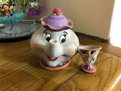 Disney 4049622 Traditions Mrs Potts And Chip Sculpture • 1.20£