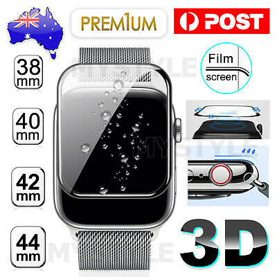 AU4.45 • Buy For Apple IWatch Series 2 3 4 5 6 38/40/42/44mm Tempered Glass Screen Protector