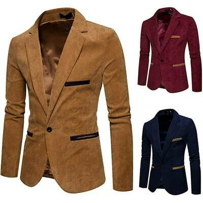 $ CDN49.21 • Buy Men's One Tuxedo Luxury Fit Blazer Business Suit Button Slim Coat Jacket Tops